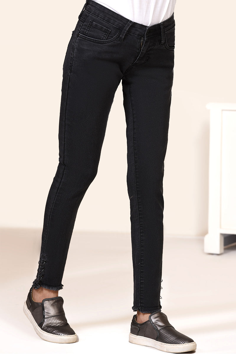 LT-1000 DENIM TROUSER BLACK