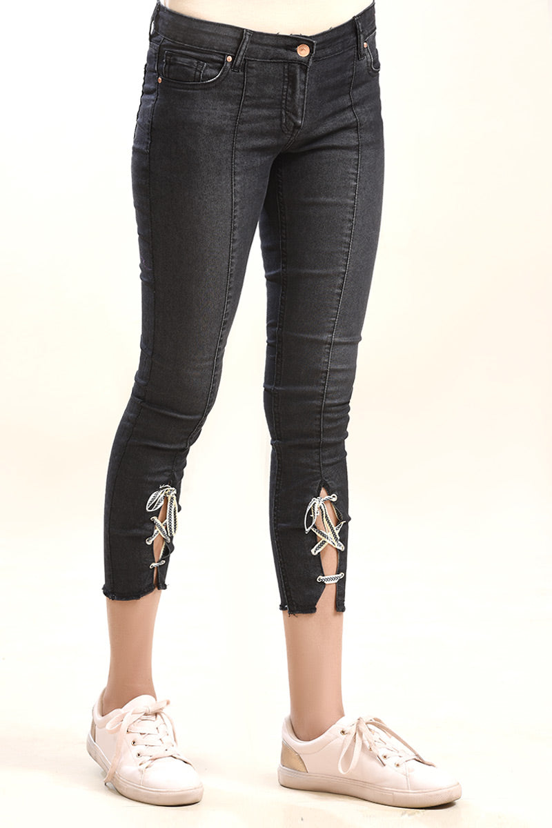 Denim Trouser Black