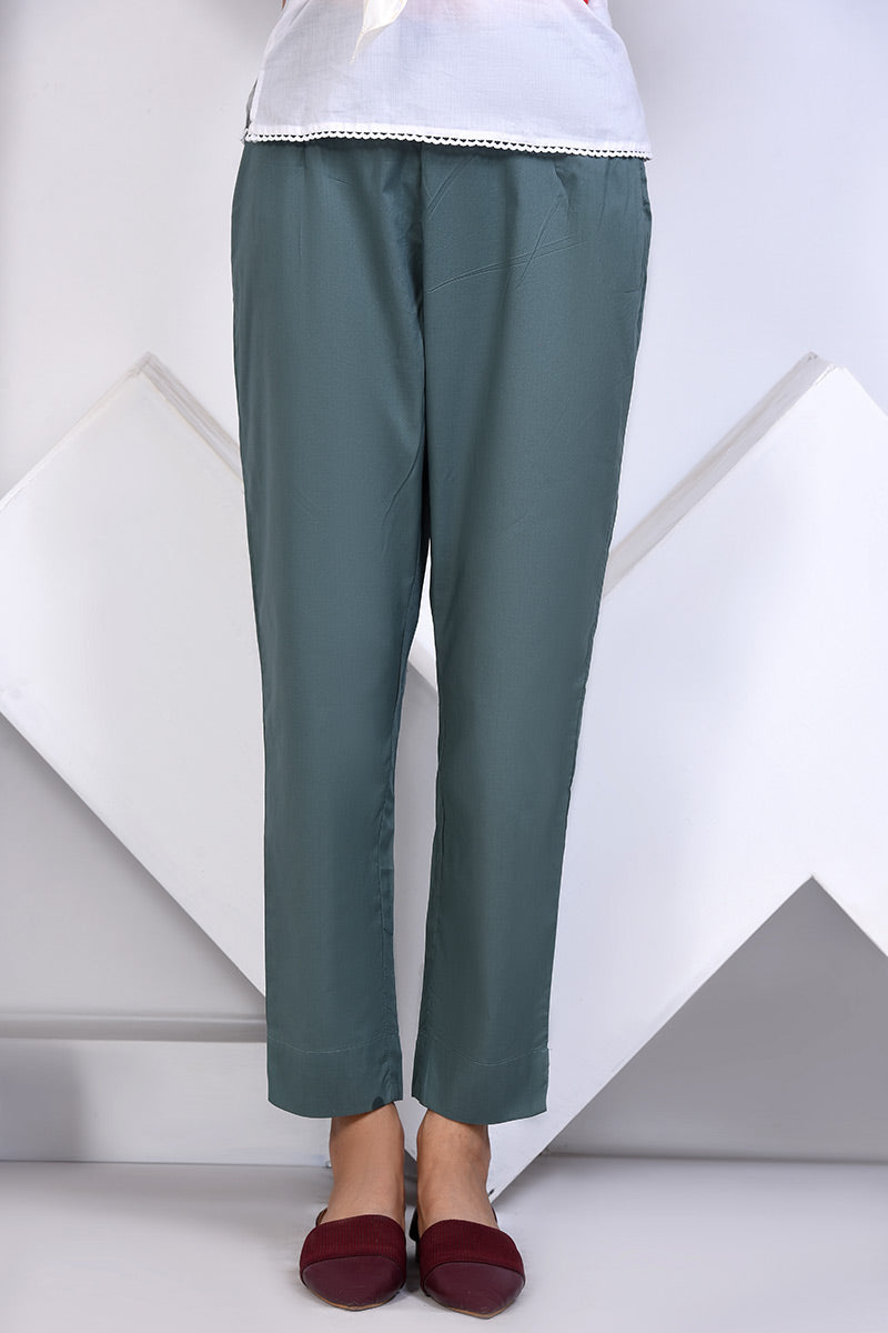 BASIC TROUSER GREEN