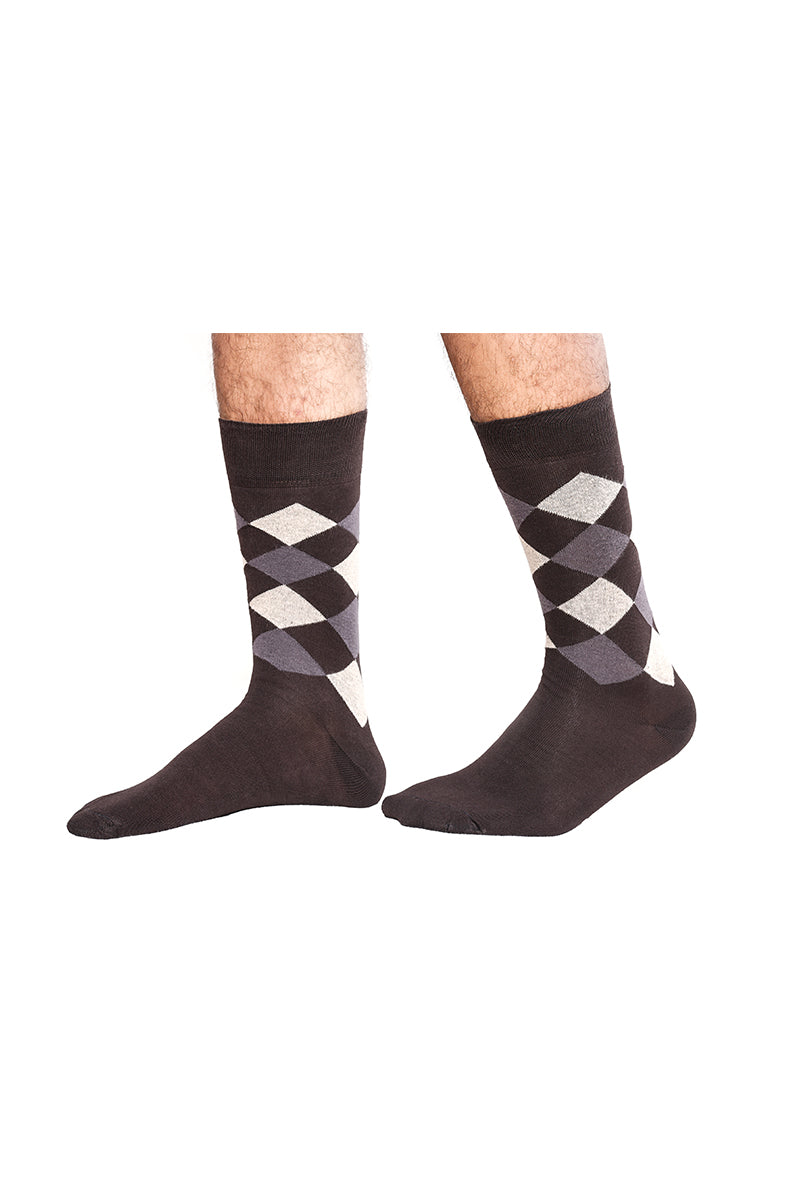 Mens Formal Socks Pattern-3