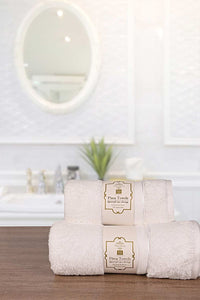 3 PCS TOWEL SET WHITE