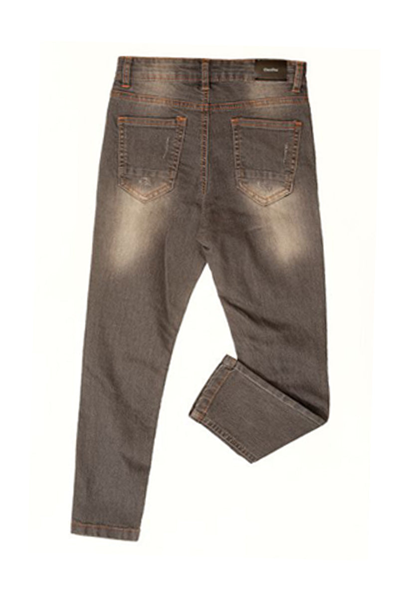 Denim Trouser Grey