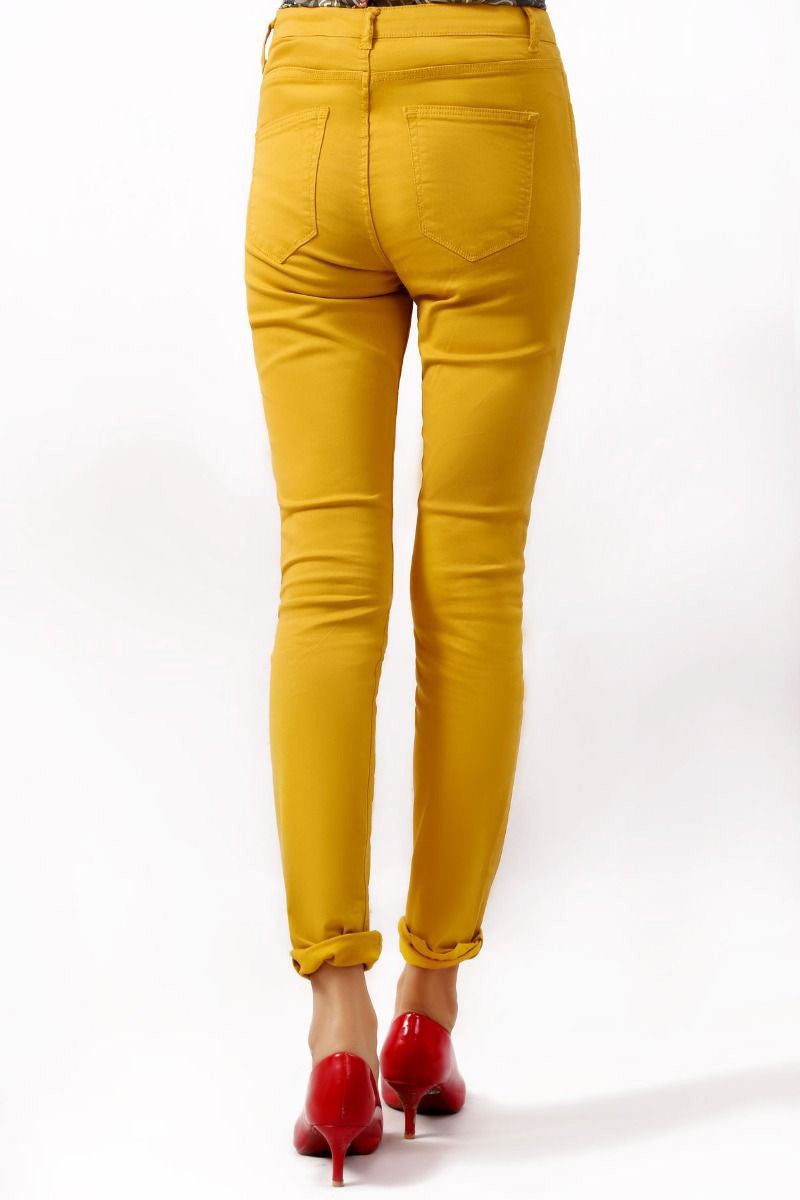 Fashion Trouser Yellow