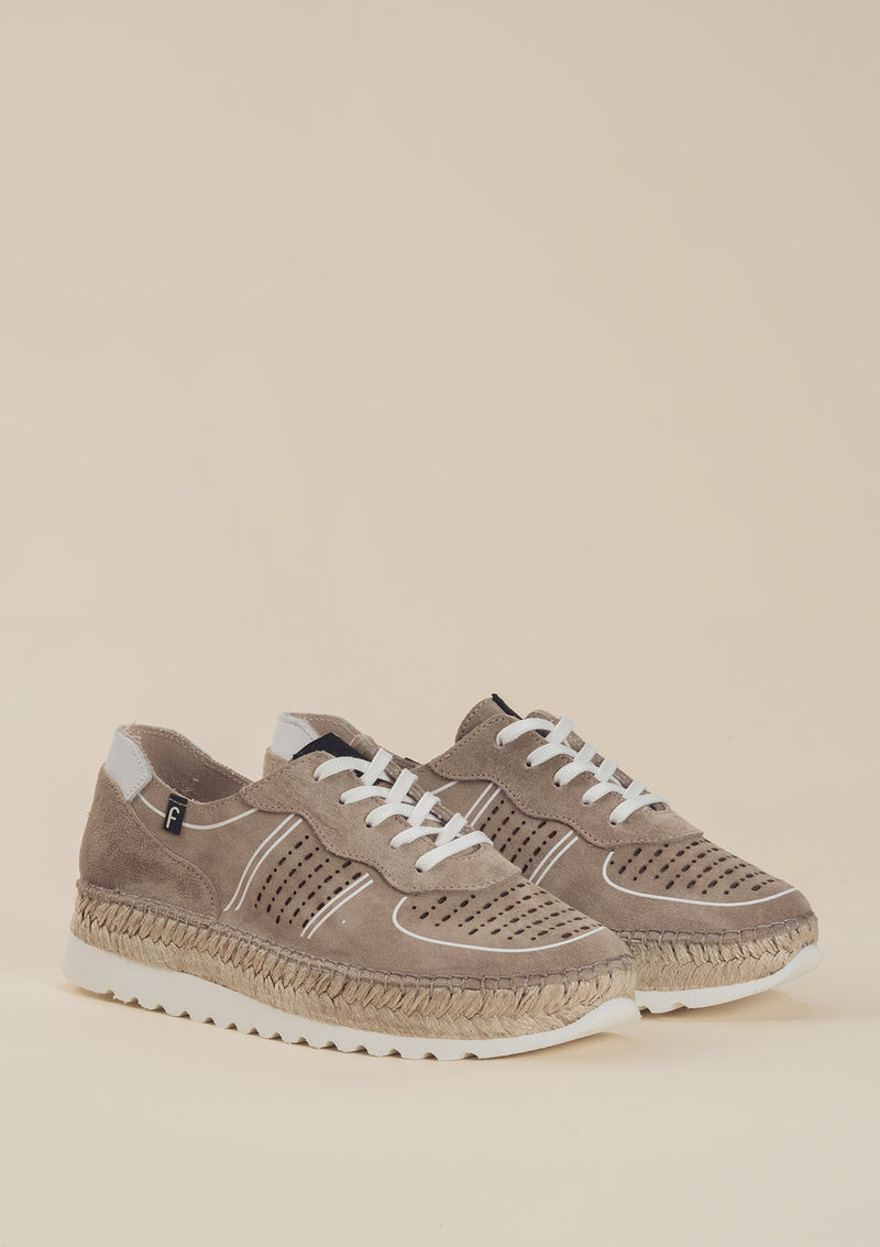 Sneakers cortina beig