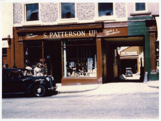 Smyth Patterson Ltd., Timber and Hardware shop in 1957