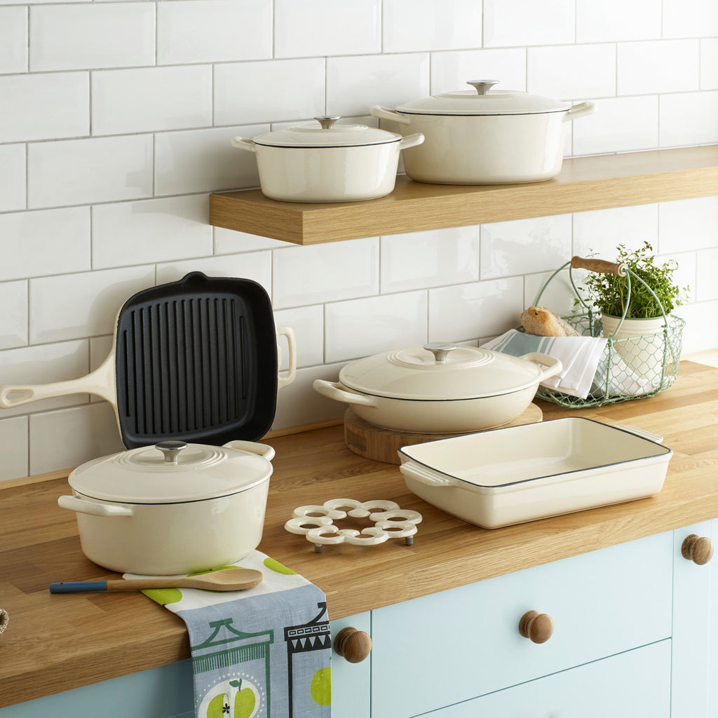 Denby Natural Canvas Cast Iron Product Range Lifestyle image