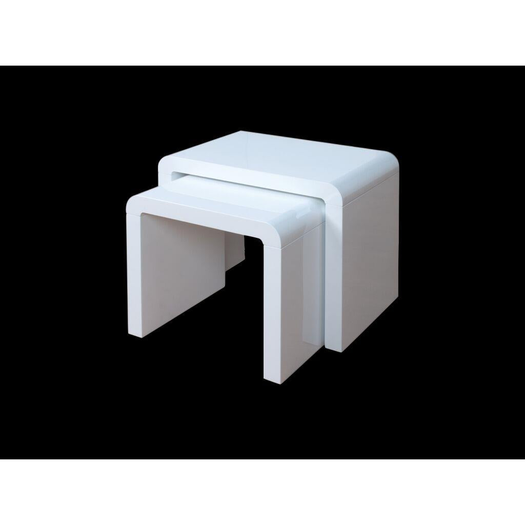 Clarus Nest Of Tables White