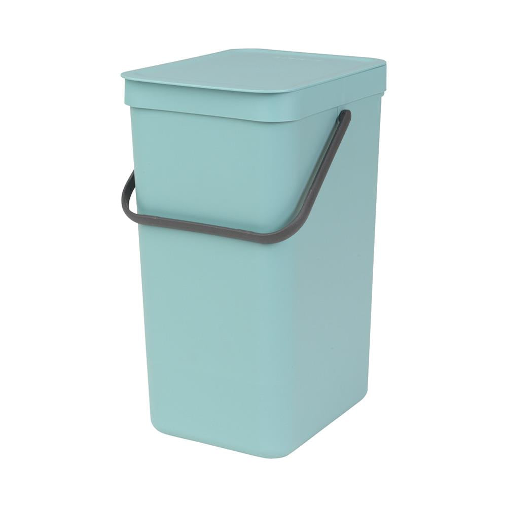 Brabantia Sort & Go Waste Bin, 16L Mint