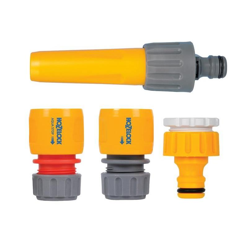 Hozelock Spray Nozzle and Grab Bag of Fittings