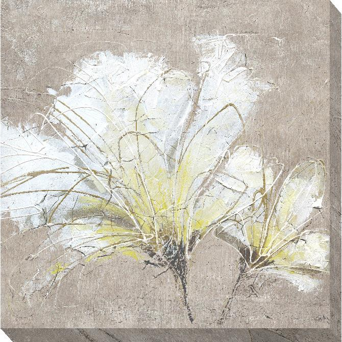 Camelot White Florals On Pumice 2 Picture