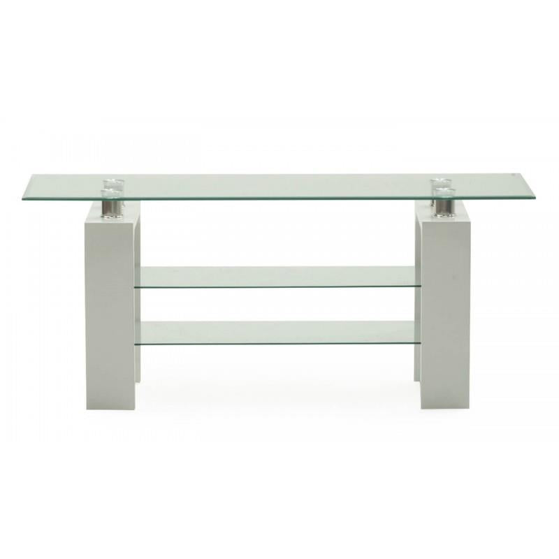 Calico TV Stand White