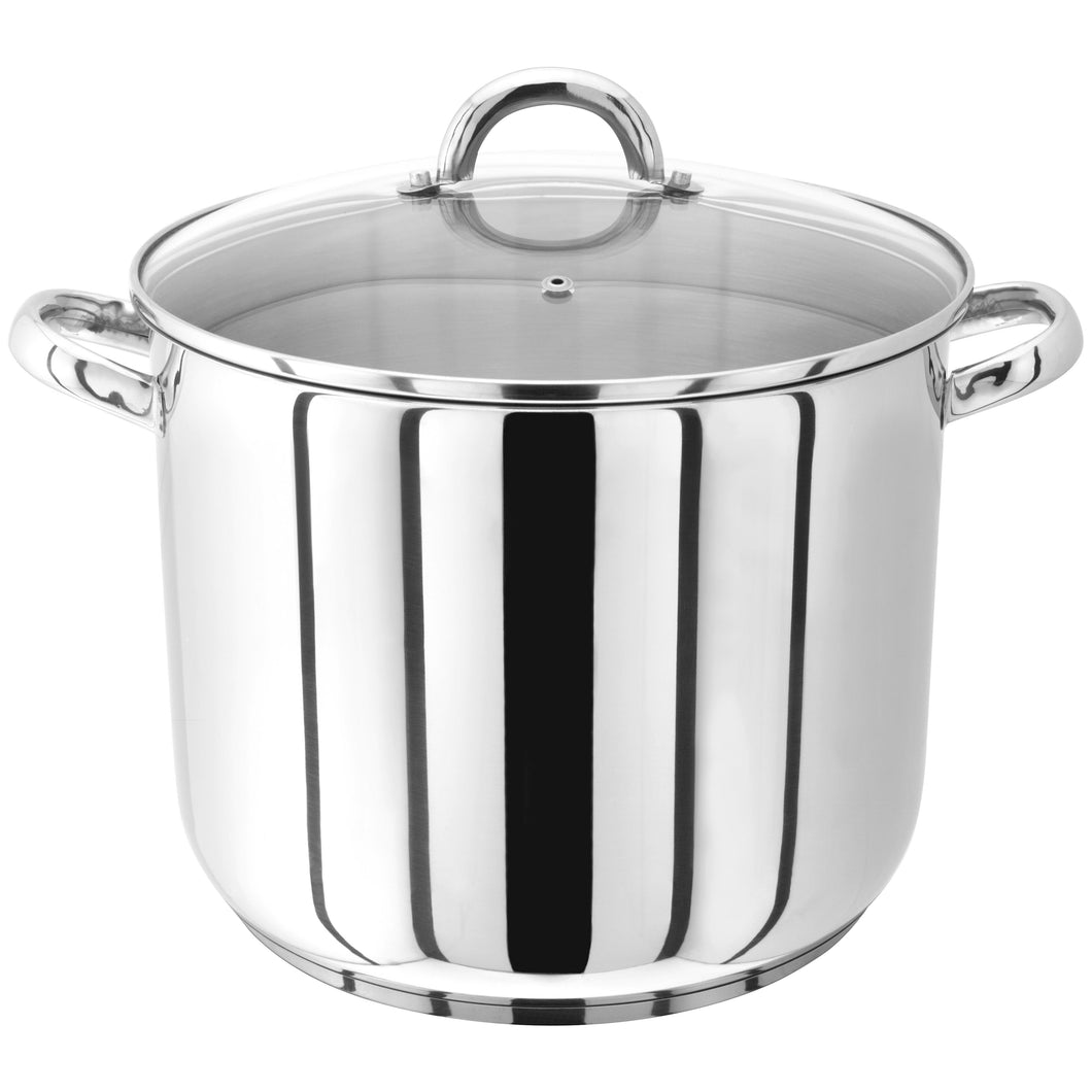 Judge 28cm Stockpot With Glass Lid