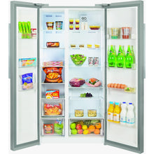 Load image into Gallery viewer, Beko RAS121LS Free Standing American Style Fridge Freezer Silver - Smyth Patterson