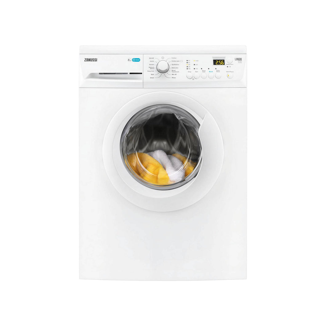 Zanussi ZWF81443 Washing Machine 8kg-1400 Spin Speed
