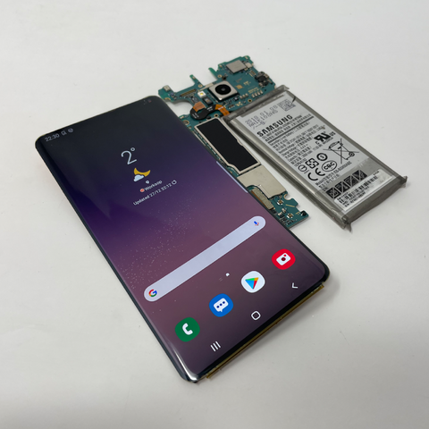 OLED screen removed from phone
