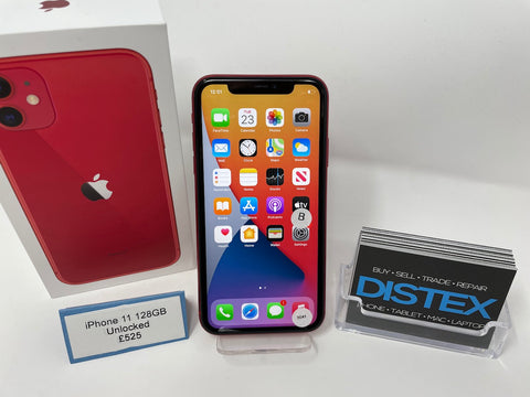 Apple iPhone 11 128GB Unlocked Red (B)