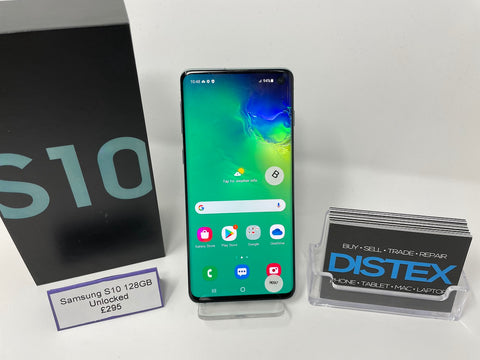 Samsung Galaxy S10 128GB Unlocked Green (B)