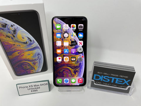 Apple iPhone XS Max 64GB Unlocked Silver (A)