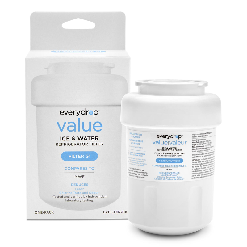 everydrop® value Refrigerator Water Filter G1 (compares to MWF) EVFILTERG1B