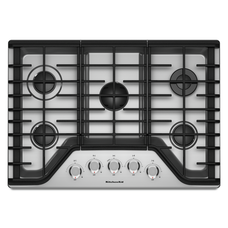 "30"" 5-Burner Gas Cooktop KCGS350ESS"