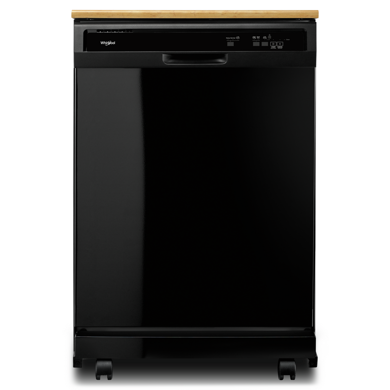 Heavy-Duty Dishwasher with 1-Hour Wash Cycle WDP370PAHW