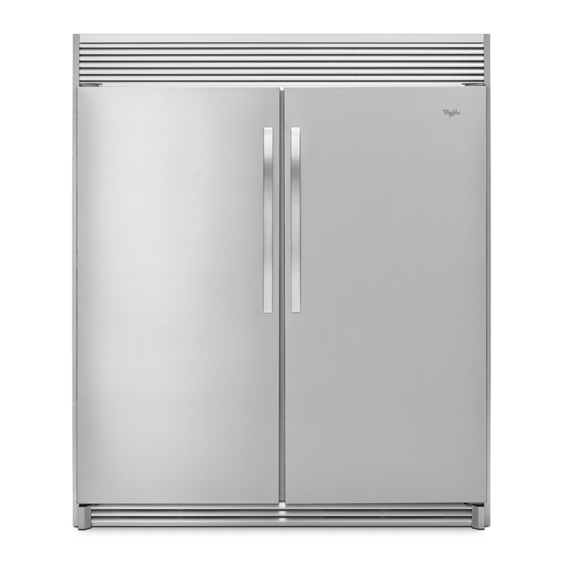 Whirlpool® 31-inch Wide SideKicks® All-Refrigerator with LED Lighting - 18 cu. ft. WSR57R18DM
