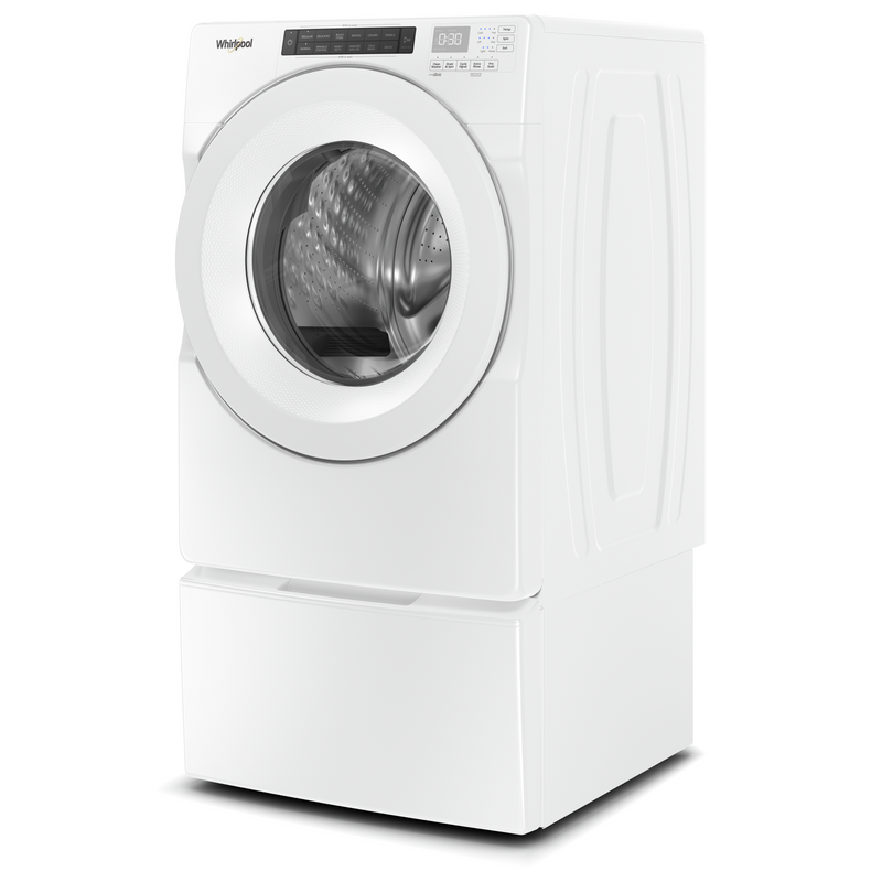 5.0 cu.ft I.E.C. Closet-Depth Front Load Washer with Intuitive Controls WFW560CHW