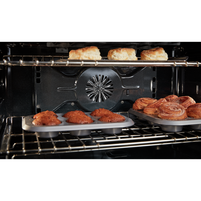 KitchenAid® 36'' Smart Commercial-Style Gas Range with 6 Burners KFGC506JMH