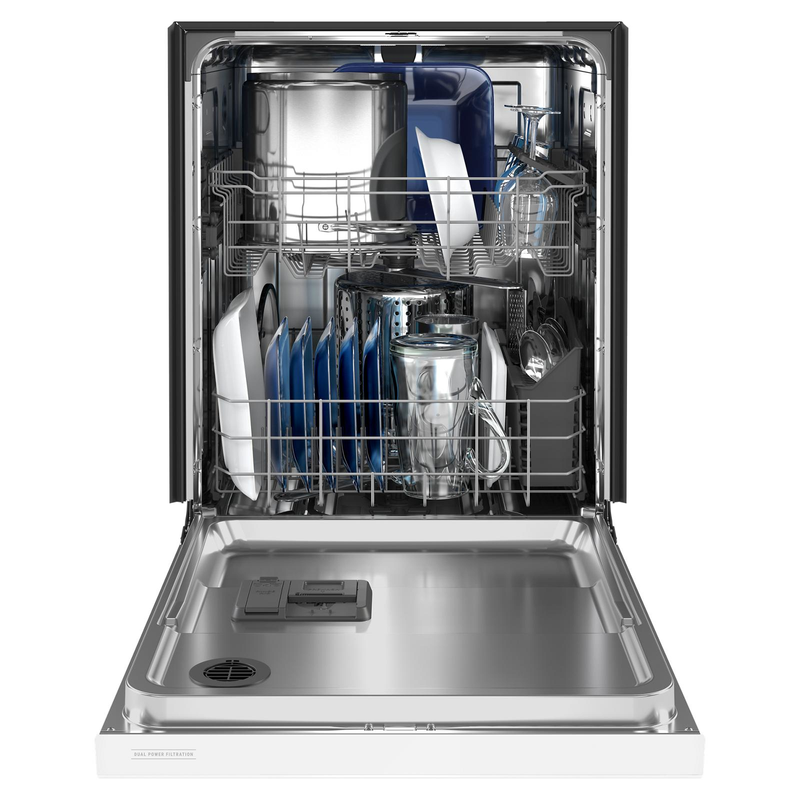 Maytag® Stainless steel tub dishwasher with Dual Power filtration MDB4949SKW