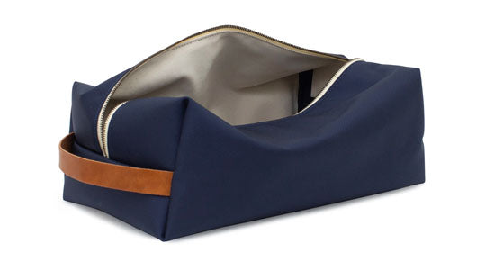 Seamus Golf Navy Ballistic Shoe Bag