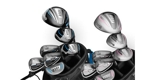 Taylormade Golf Rory 4+ Blue Kids Set