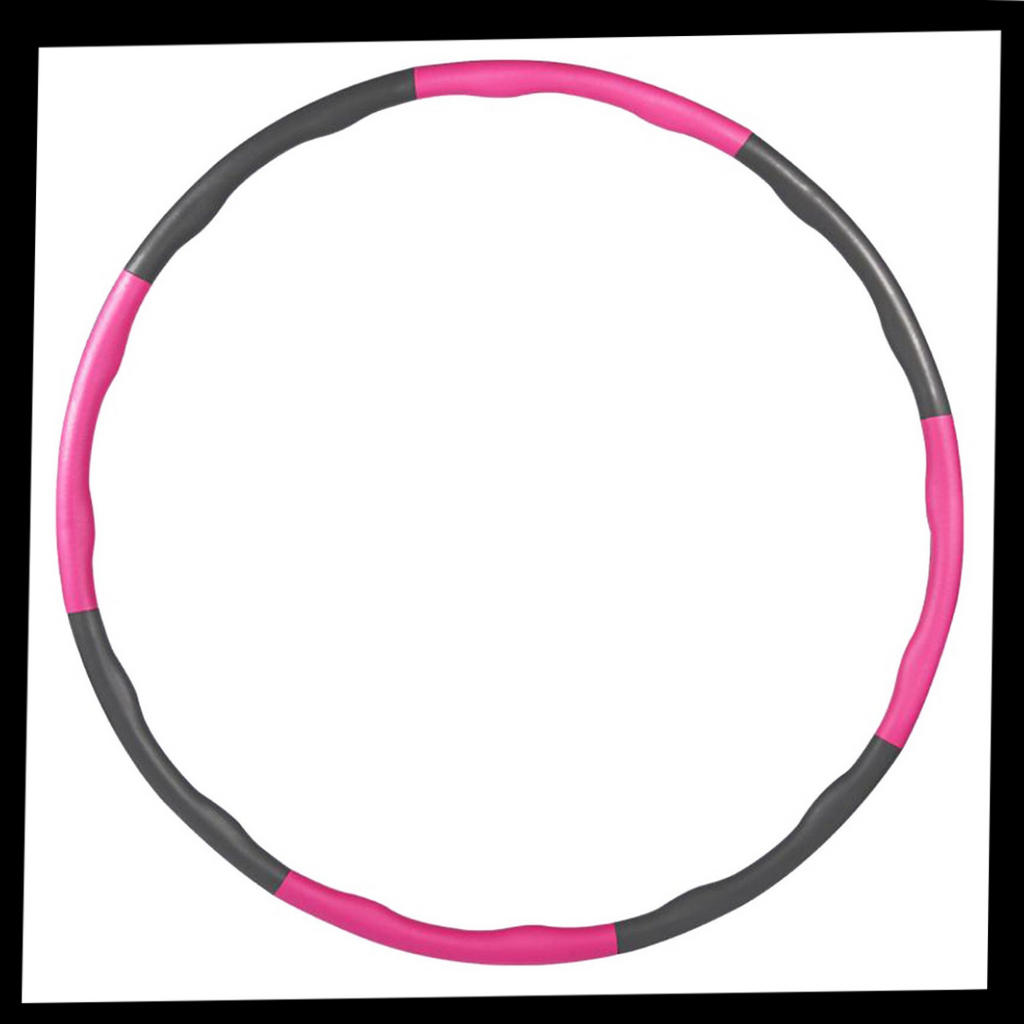 Padded adjustable Fitness Hula Hoop - Included in the package - Ozayti