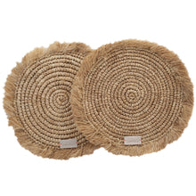 Afbeelding in Gallery-weergave laden, Jakarta - Placemats Naturel set van 2 | Yoshiko Home Ware