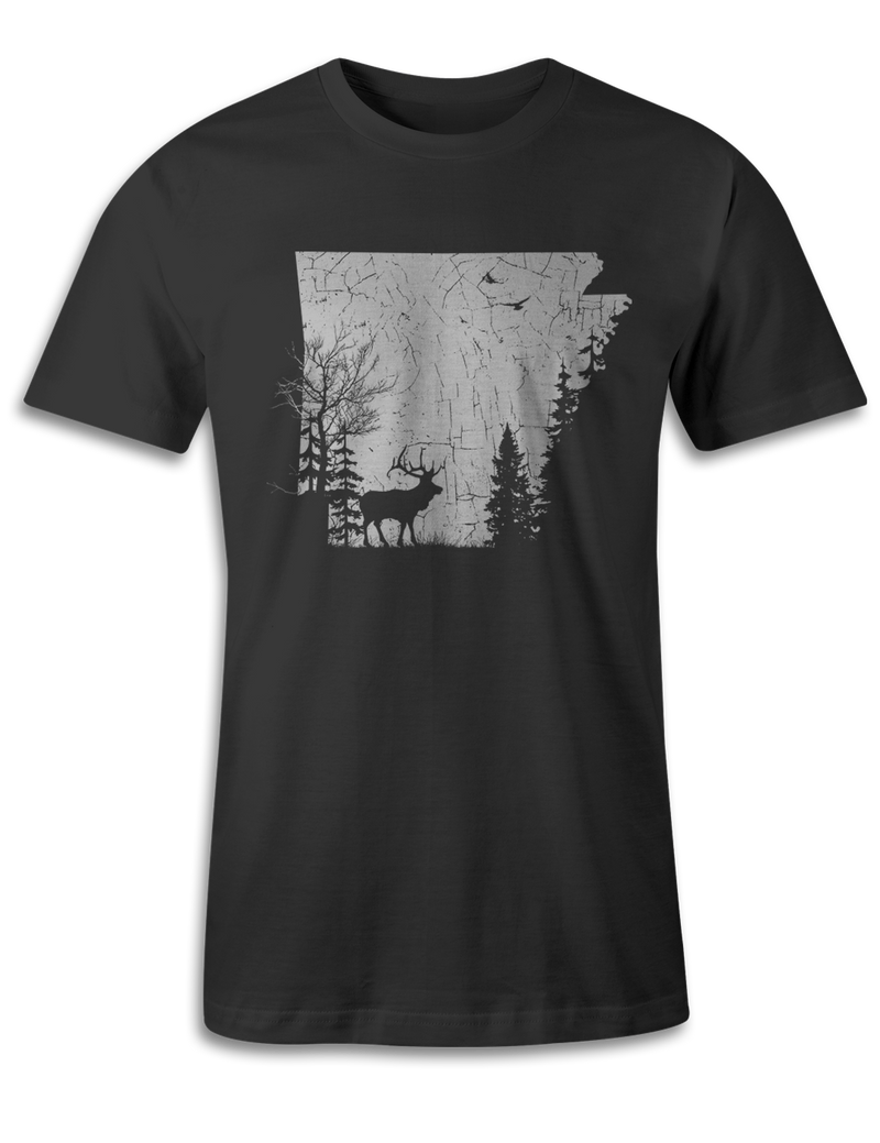 Arkansas - Animal In The Woods - Unisex Tee
