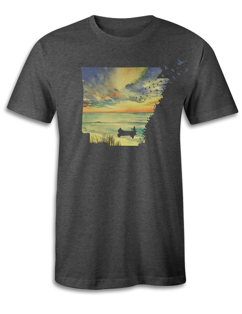 Arkansas - Sunset Birds - Unisex