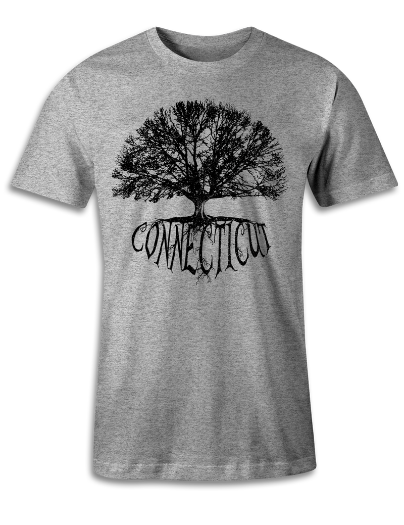 Connecticut - Big Tree - Unisex Tee