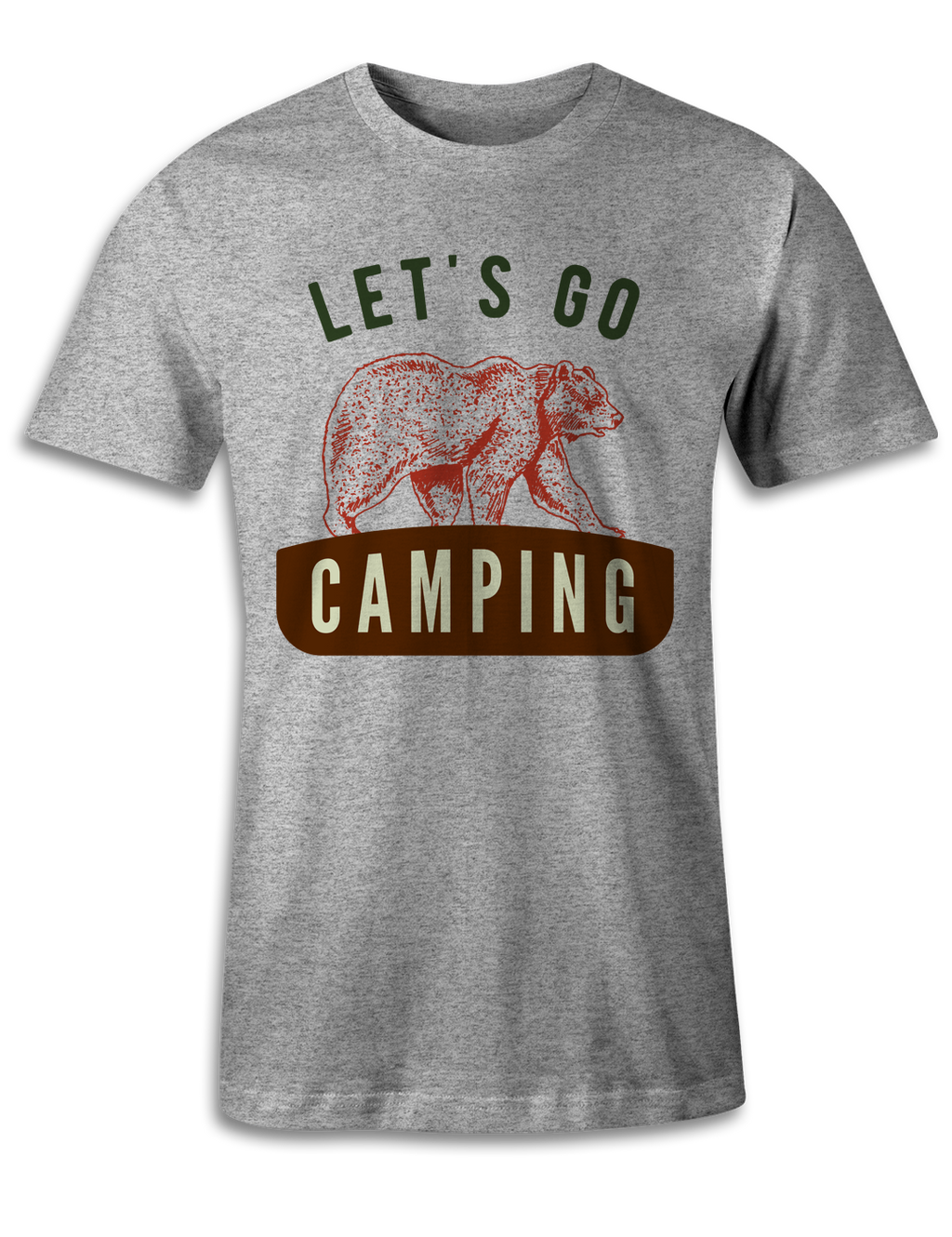 Let's Go Camping - Unisex Tee