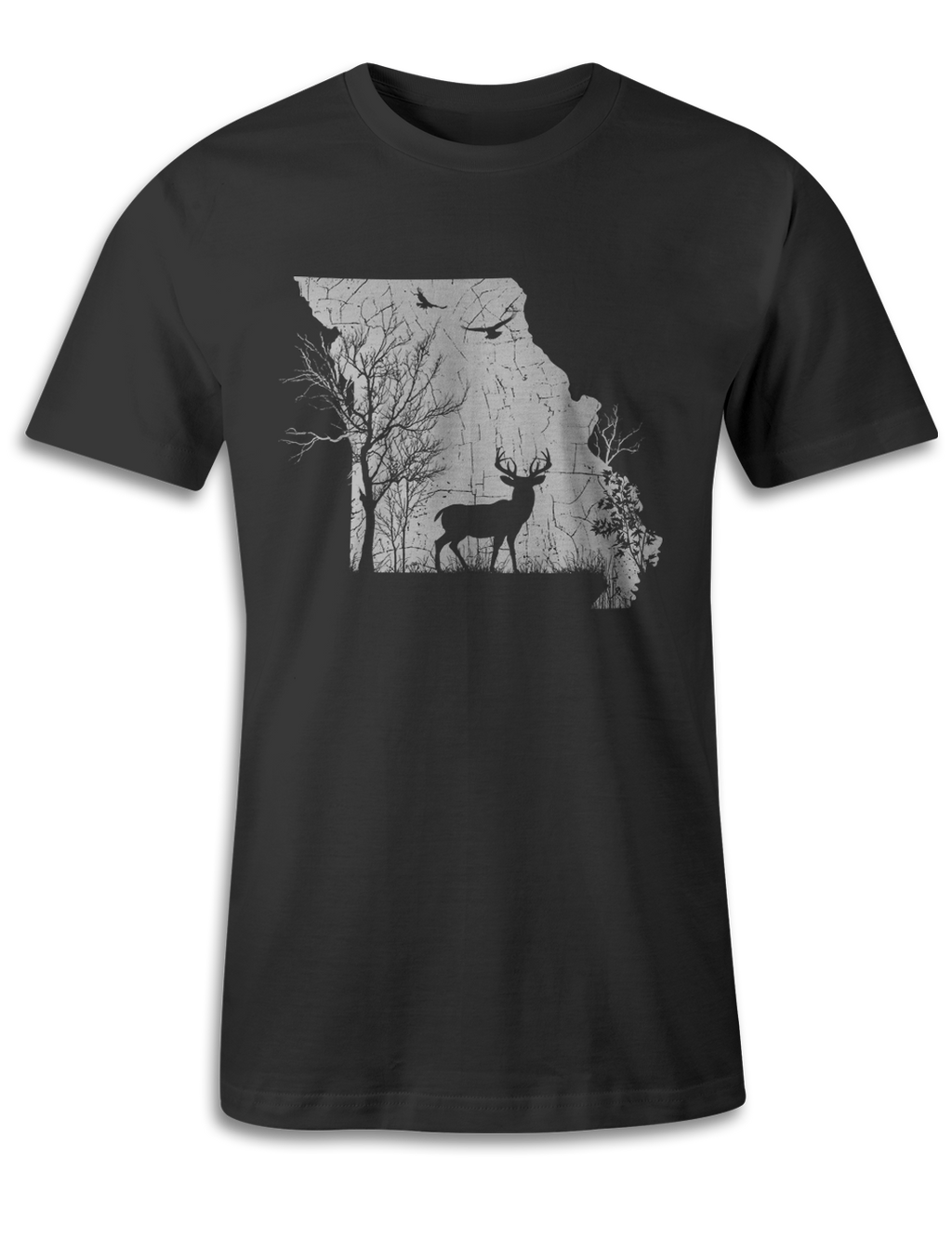 Missouri - Animal In The Woods - Unisex Tee