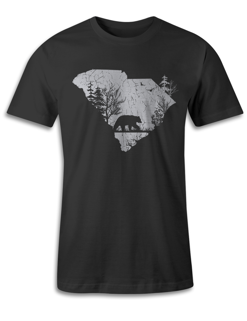 South Carolina - Animal In The Woods - Unisex Tee