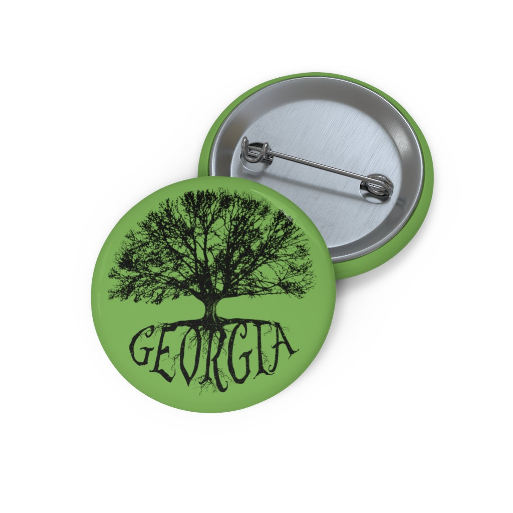 Georgia - Big Tree - Button
