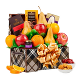 Fresh Fruit & Chocolate Keepsake Chest