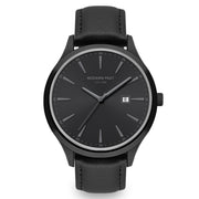 Parker Black Leather Black / Black