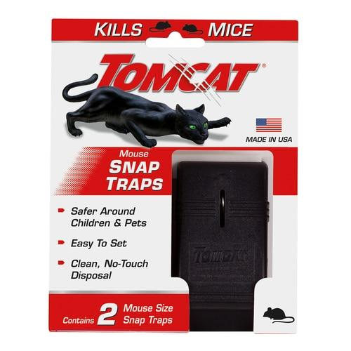 Tomcat Snap Trap For Mice 2 pk