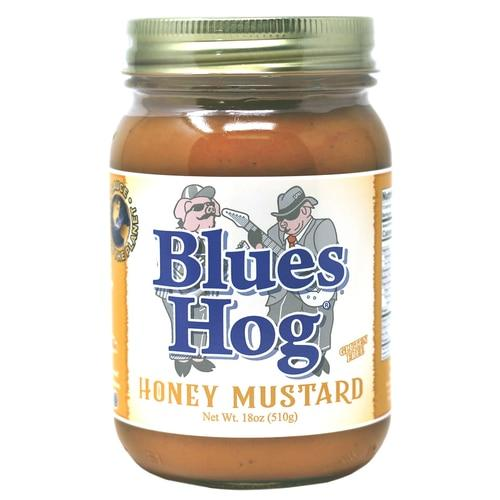 Blues Hog Honey Mustard BBQ Sauce 16oz