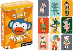 Petit Collage Silly Monkey Card Game