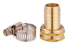 3/4 in. Hose Barb x 3/4 in. FHT Brass Threaded Female Hose Repair