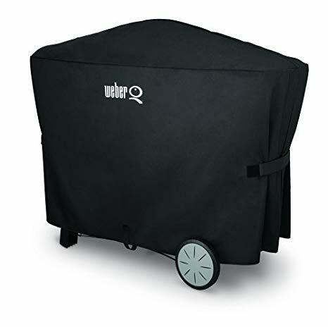 Weber Premium Grill Cover for Q2000 series with cart and