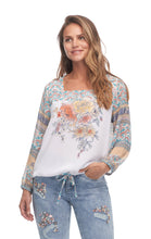 Load image into Gallery viewer, FDJ - Print 7/8 Sleeve Blouse