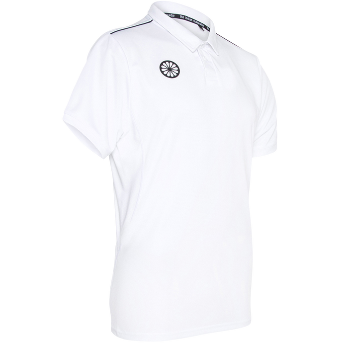 Men's Tech Polo Shirt - wit