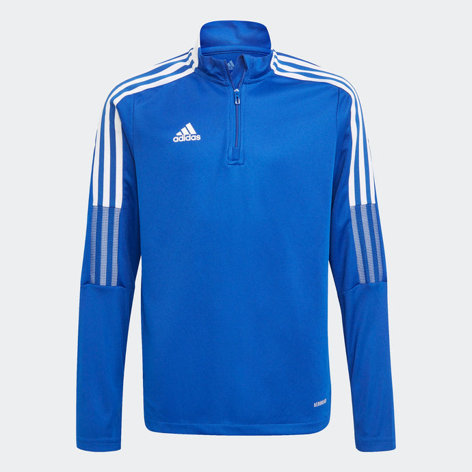 Adidas Tiro 21 trainingstop JR Blauw